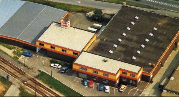 Das Firmengelände in Viernheim