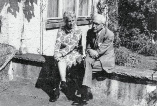 Bettina Hürlimann-Kiepenheuer (1909–1983) und Martin Hürlimann (1897–1984)