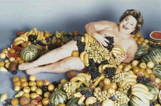 """Das beühmteste """"Skandal""""-Foto (wer denkt da nicht an das Cover einer LP von Juicy Lucy ?)"""