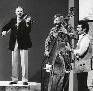 Helmut Zacharias mit James Last & Max Greger (1971)