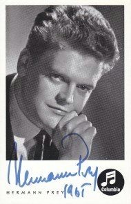 Autogrammkarte, 1965