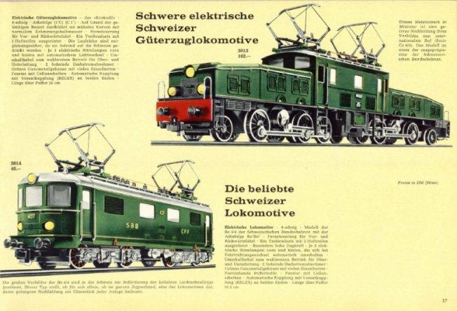 Aus dem Katalog des Jahres 1967
