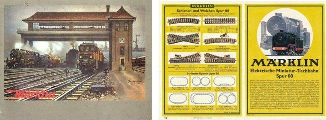 Die Märklin Kataloge der Jahre 1932 + 1933
