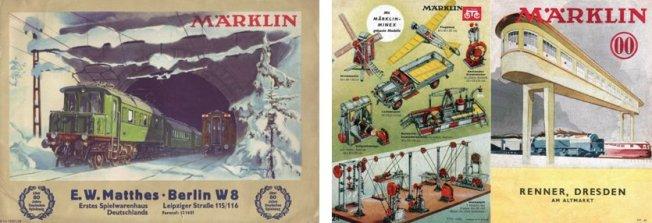 Die Märklin Kataloge der Jahre 1937 - 1940