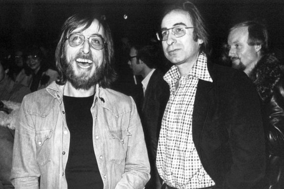 Peter-Paul Zahl (links) und Peter Rühmkorf