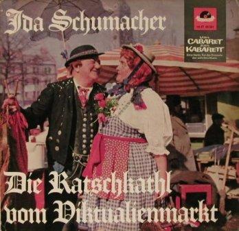 Ida Schumacher Album auf Polydor (1966)