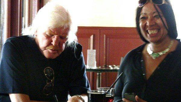 Edgar Roese mit Bianca Acquaye