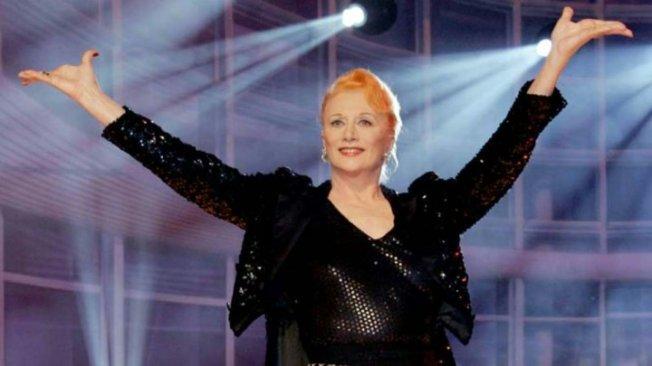 Noch die strahlende Diva: Margot Werner