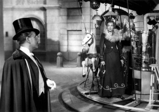 """""""Der Reigen"""" (""""La Ronde""""), 1950 von Max Ophüls mit Adolf Wohlbrück und Simone Signoret"""