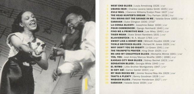 Vorder + Rückseite der CD Nr. 1