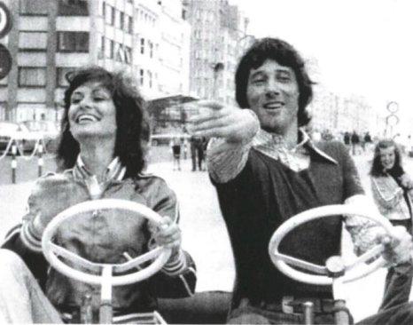 Mit Udo Jürgens in Knokke, Belgien (1968)