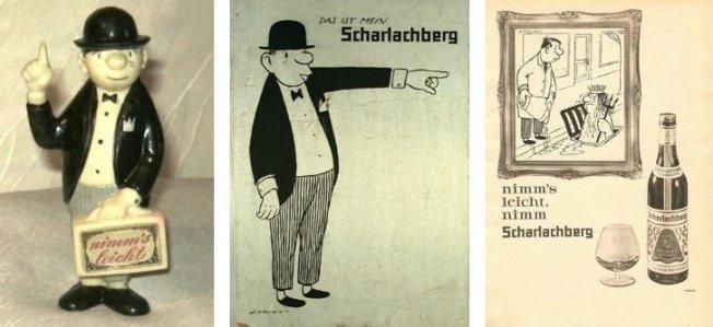 Scharlachberg-Werbung