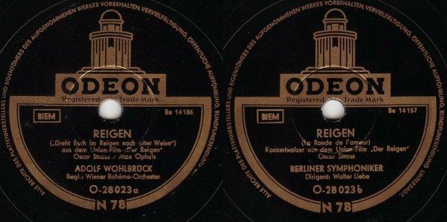 Die Labels der Schallack-Platten, 1951