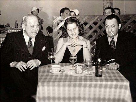 Hermann Leopoldi, Helly Möslein und Arthur Berger (v.l.n.r.), USA ca. 1943