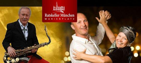 Werbung für den Tanztee mit Fats Hagen