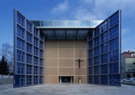 Ziemlich futuristisch: Die Herz-Jesus Kirche zu München