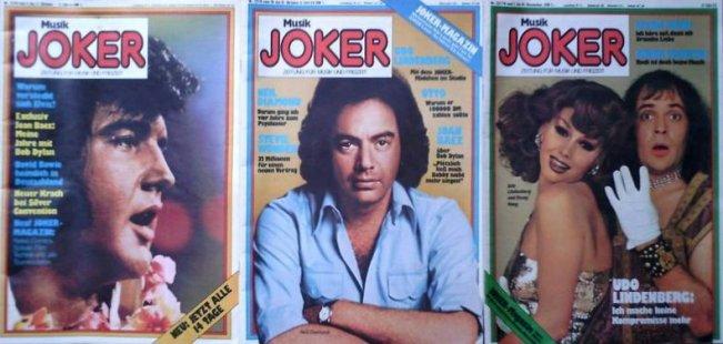 """Weitere """"Musik Joker"""" Ausgaben"""