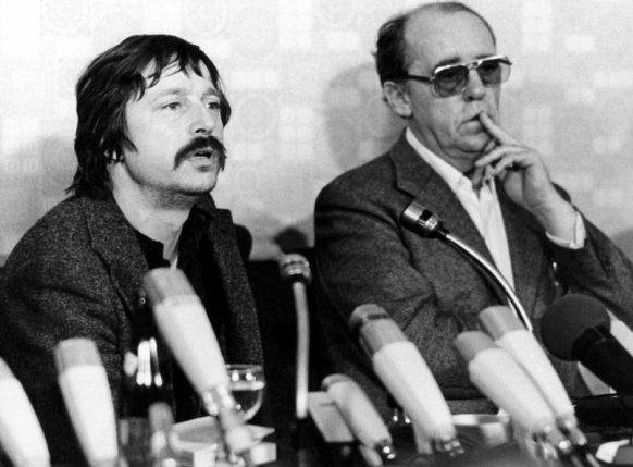 Wolf Biermann + Heinrich Böll (1977)