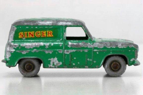 """Der """"Ford Thames Van Singer"""" aus dem Jahre 1953"""