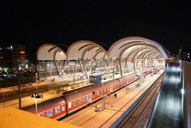 Der Bahnhof im Jahr 2006