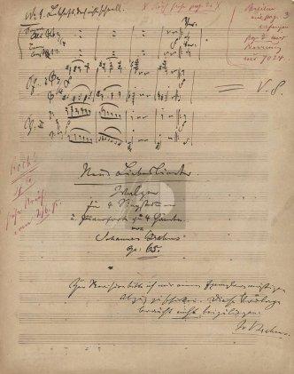 BrahmsNotensatz