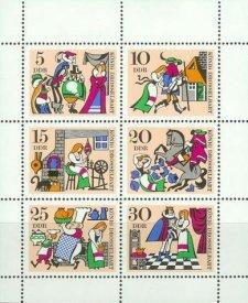 Briefmarkenserie, DDR (1967)
