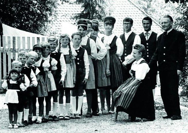Die 17 köpfige Well-Familie