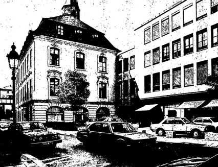 Das ehemalige Bankhaus Schneider & Münzing in München